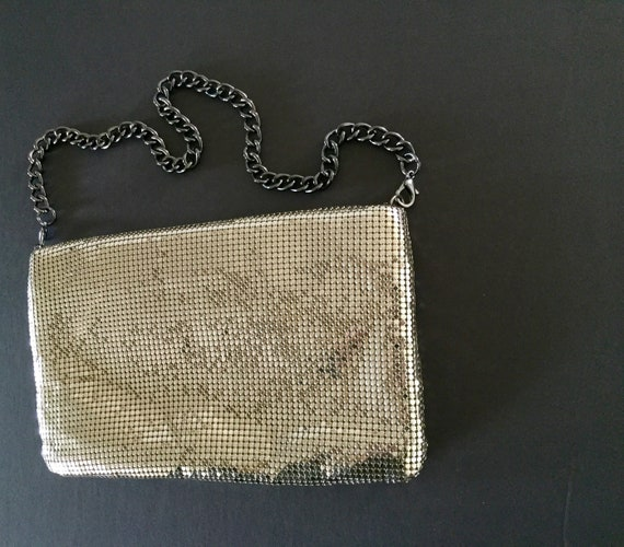 Whiting and Davis Mesh Evening Bag, Silver Evenin… - image 7