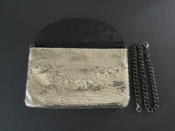 Whiting and Davis Mesh Evening Bag, Silver Evenin… - image 6