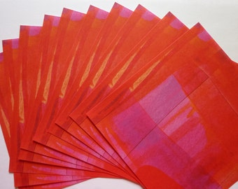 Origamipapier Rot-Pink 15x15cm 30 Blatt
