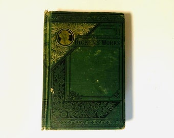 Oliver Twist by Charles Dickens Antique Vintage 1900s Hardcover Book
