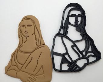 Mona Lisa Cookie Cutter