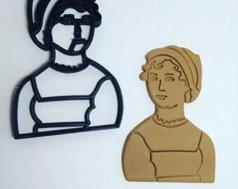 Jane Austen Cookie Cutter
