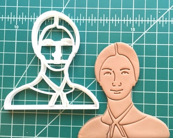 Emily Dickinson Cookie Cutter