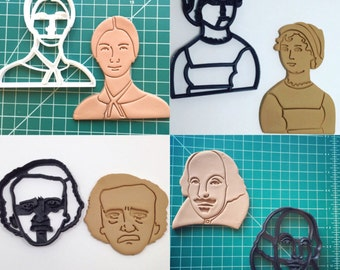 Literary Combo Cookie Cutter Set