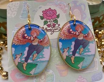 The Fool - Tarot Earrings