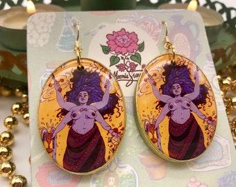 The Magician - Tarot Earrings