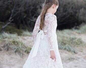 Charlotte flower girls dress