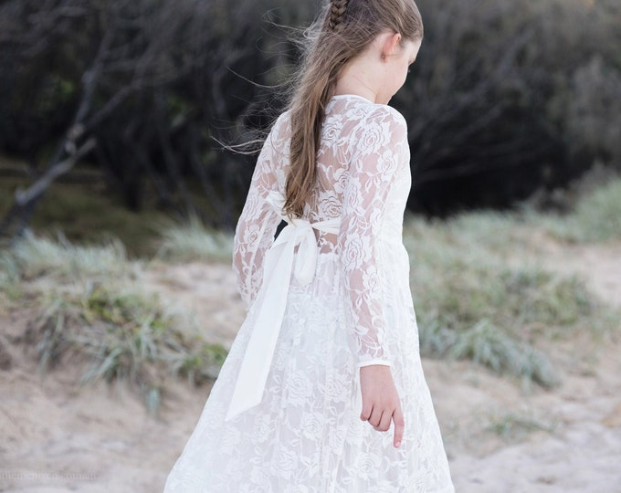 Charlotte flower girls dress