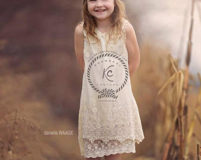 lace flower girl dress ivory flower girl dress girls lace dress lace dress toddler lace dress boho flower girl dress flower girl dress lace