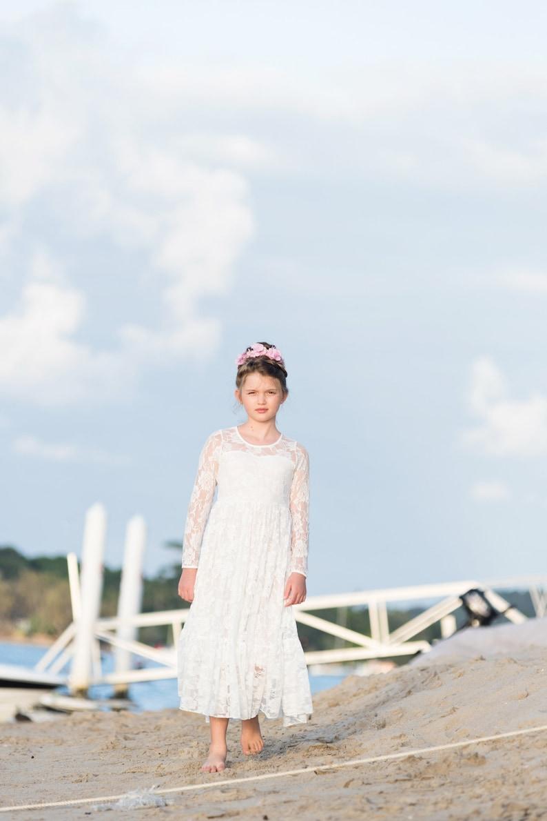 lace flower girl dress flower girl dress girls lace dress lace dress boho flower girl dress flower girl dress lace charlotte dress
