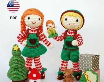 Patrones amigurumis navideños gratuitos | Amigurumi navideño ... | 270x340