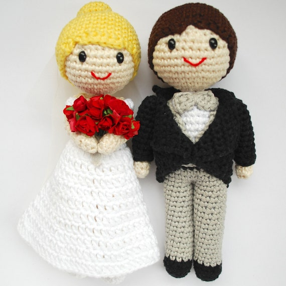 132 Best Crochet Wedding Dolls images | Wedding doll, Crochet ... | 570x570