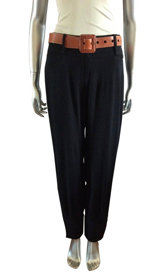 Vintage Dolce & Gabbana Wool Ankle Pants