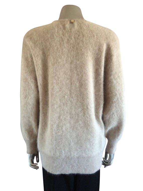 Vintage Knit Dusty Pink Sweater - image 4