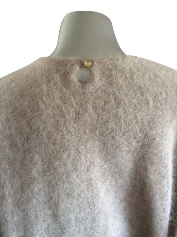 Vintage Knit Dusty Pink Sweater - image 5