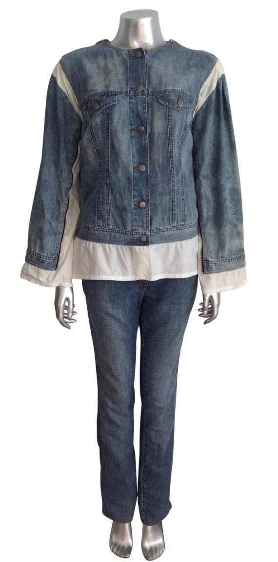 Vintage Jean Paul Gaultier Denim Jacket and Jeans