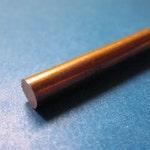 """1/8"""" (.125) Copper Round Rod, C110, 110"""