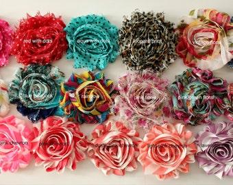 Pick 5 Choose Colour Shabby headband, baby girl headband, newborn headband, toddler headband, headband set, shabby chic headband