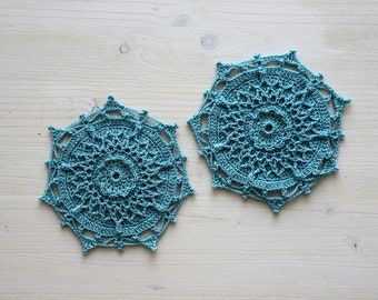 Aria doily - digital PDF pattern of crocheted doily crochet pattern doily tablecloth textured doily tutorial diagram download how to create