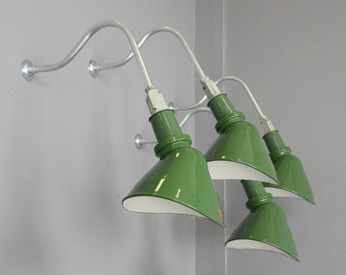 Wall Mounted Elliptical Lights By Thorlux Circa 1930s