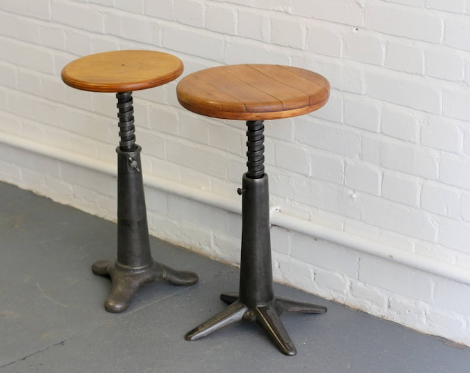 Industrial Stools By Simanco Circa 1930s