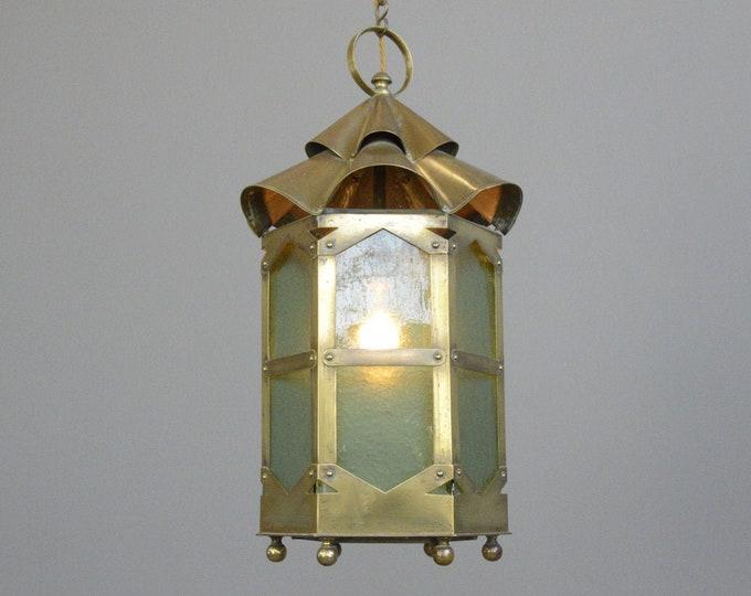 Arts & Crafts Hallway Lantern Circa 1900