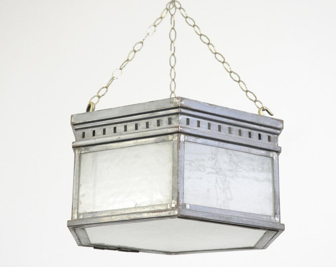 Pewter Cinema Light Circa 1910