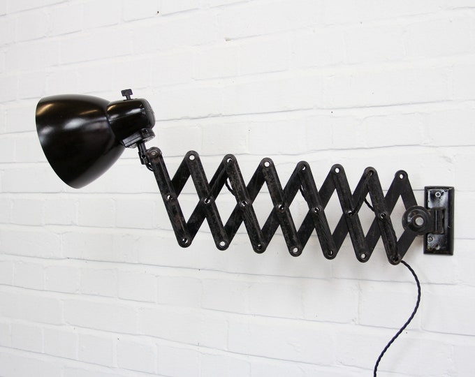 Industrial Scissor Lamp By Marianne Brandt For Kandem Circa 1950s