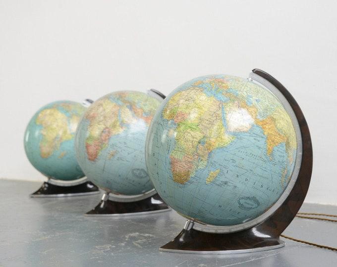 Art Deco Glass Globes Circa 1930s