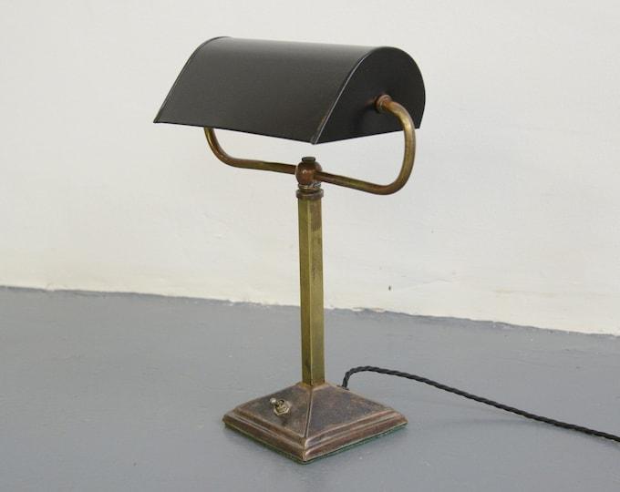 English Table Lamp Circa 1910
