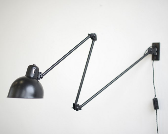 Wall Mounted Task Lamp By Christian Dell For Koranda 1920s