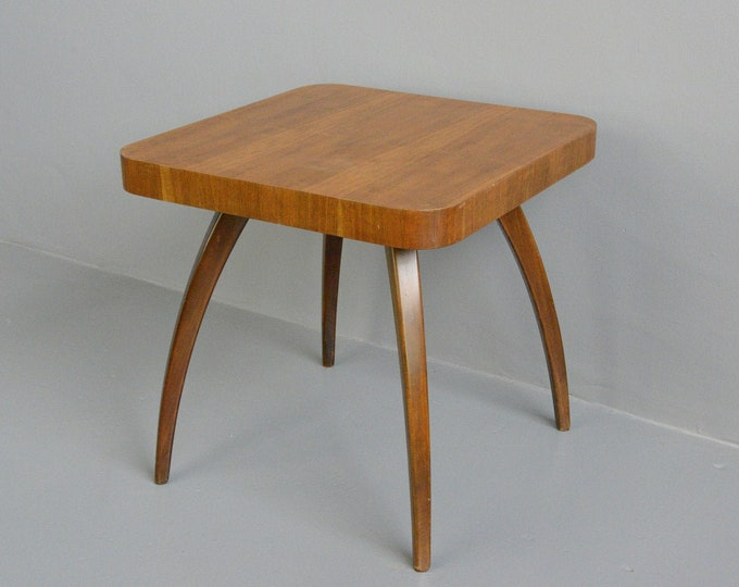 Spider Table By Jindrich Halabala Circa 1940s