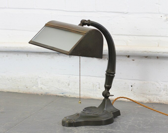 Early 20th Century Desk Lamp Circa 1910