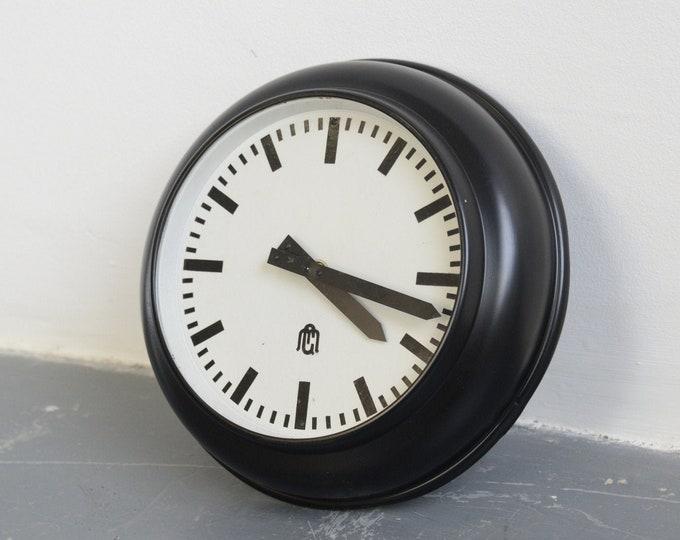 Modernist German Office Clock Circa 1930s