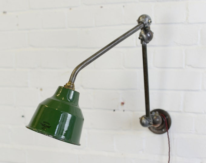 Articulated Task Lamp By Maxlume Circa 1930s