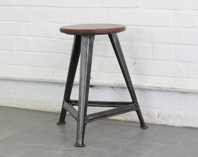 Industrial Stool By Robert Wagner Rowac Circa 1930s