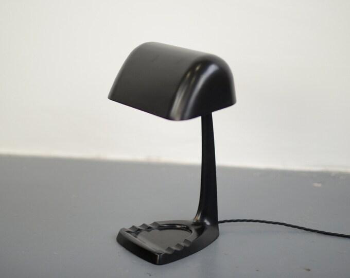 English Art Deco Desk Lamp Circa 1930s