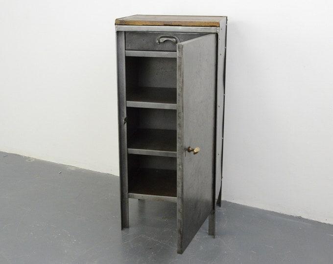 English Industrial Cabinet Circa 1920s