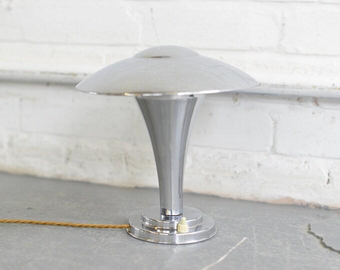 Petite French Modernist Desk Lamp Circa 1930s