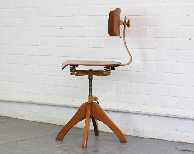 Ergonomic Chair By Margarete Klöber For Polstergleich Circa 1930s