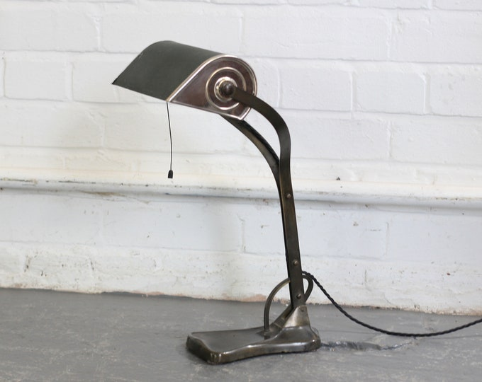Desk Lamp By Robert Pfaffle For Erpees Circa 1920