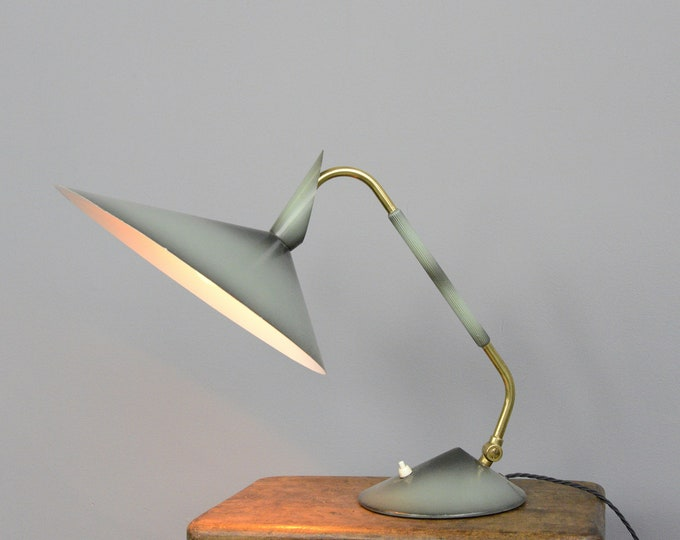 Mid Century Table Lamp By Helo Circa 1960s