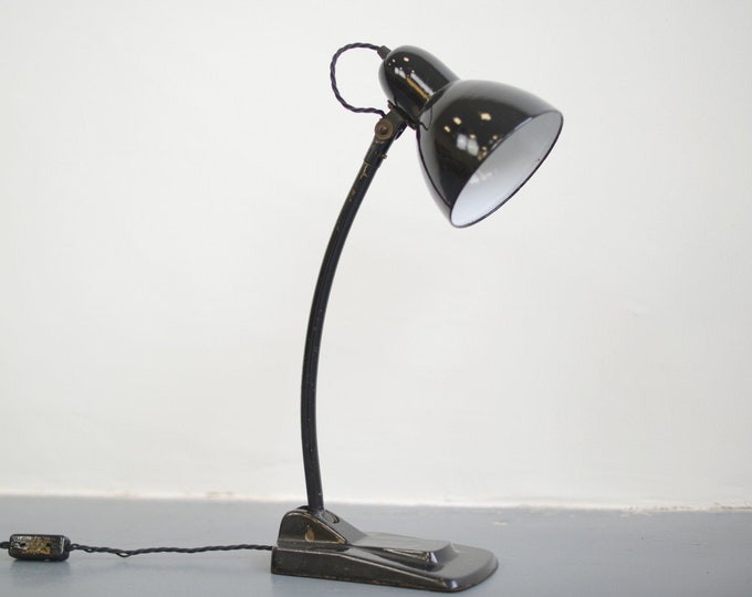 Modernist Desk Lamp By Jacobus Circa 1930s