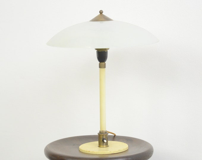 Art Deco Table Lamp By Fog & Morup Circa 1930s