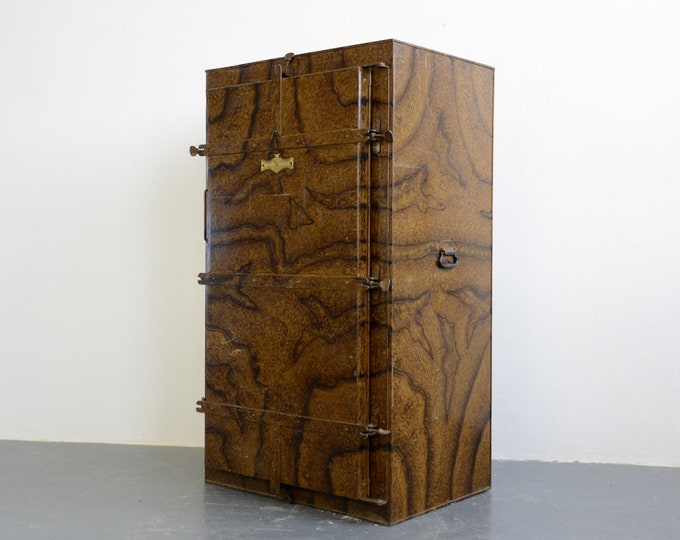 Early 20th Century Prussian Fur Coat Cabinet