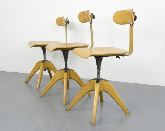 Machinists Chairs By Bombenstabil Circa 1930s