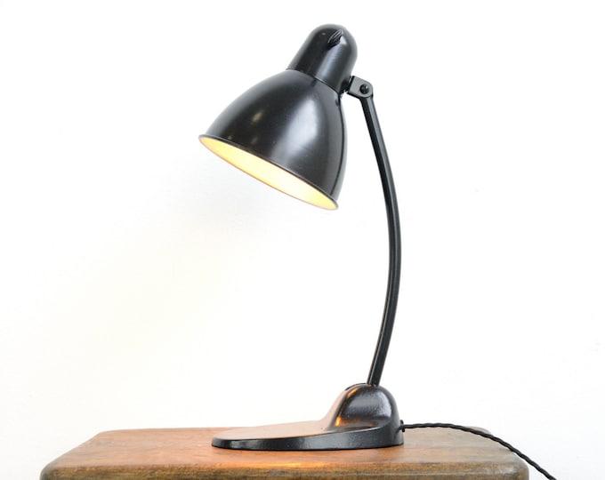 Bauhaus Desk Lamp By Siemens Circa 1930s