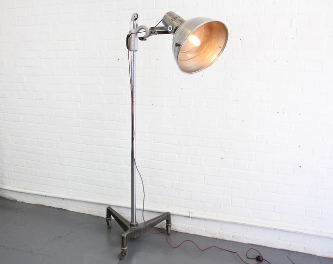 Sollux Floor Standing Medical Lamp Circa 1930s