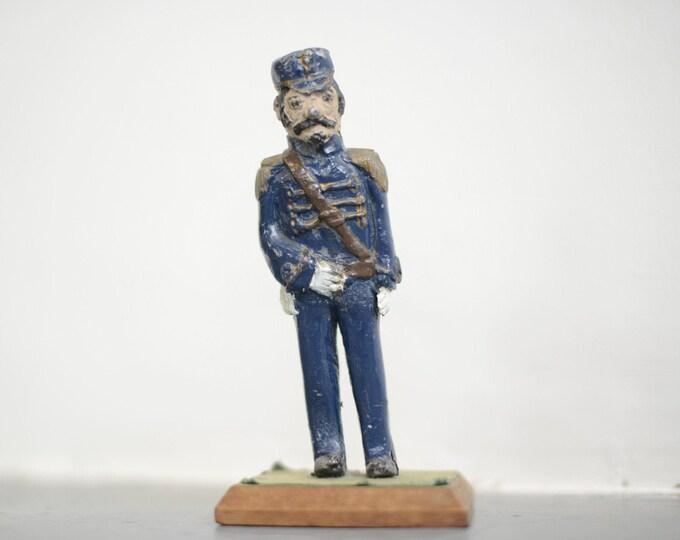 Cast Iron Soldier Circa 1910