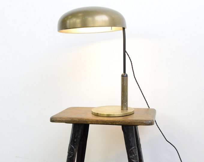 Brass Table Lamp By Erpe Circa 1930s